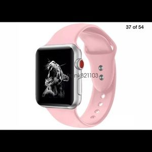 Accessories - Pink sports band for Apple Watch